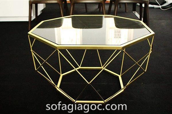 Bàn Sofa Kim Cương Chân Vàng BTS-070