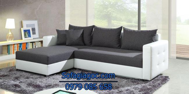 Mẫu Sofa Góc L Mã Gl 107
