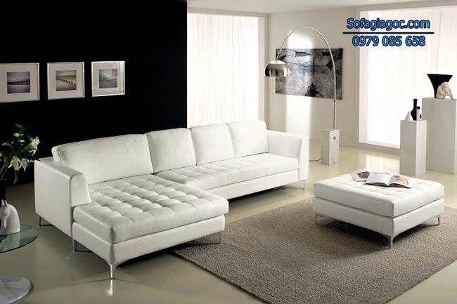 Sofa Da Đẹp – Mã Ggd 113