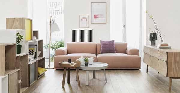 Sofa 2 Chỗ Mang Phong Cách Scandinavian