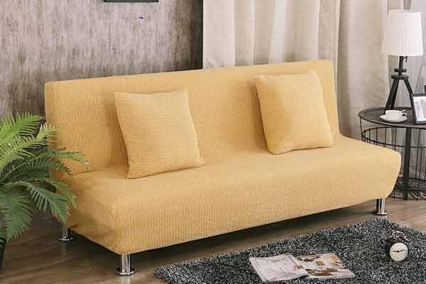 Sofa Hai Chỗ Không Tay Vịn