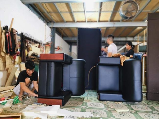 Xưởng đóng Sofa Giá Rẻ tại Long Biên 1