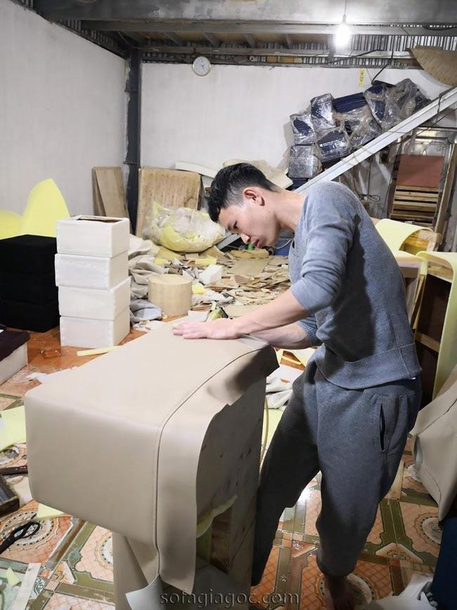 Xưởng đóng Sofa Giá Rẻ tại Long Biên3