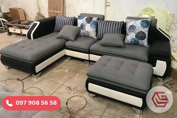 Mẫu Sofa Góc đẹp tại xưởng Sofagiagoc